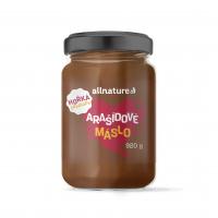 ALLNATURE Arašidové maslo s horkou čokoládou 920 g