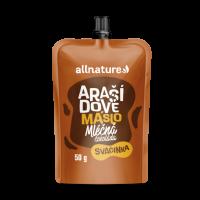 ALLNATURE Arašidové maslo s mliečnou čokoládou 50 g