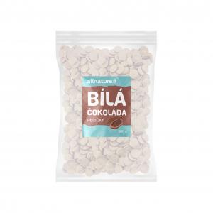 ALLNATURE Biela čokoláda 500 g