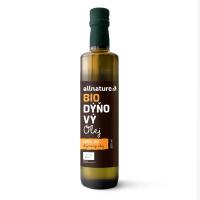 ALLNATURE Tekvicový olej 250 ml BIO