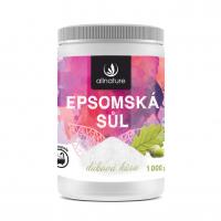 ALLNATURE Epsomská soľ Dubová kôra 1000 g