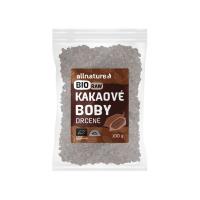 ALLNATURE Kakaové bôby drvené BIO / RAW 100 g