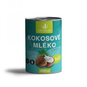 ALLNATURE Kokosové mlieko BIO 400 ml