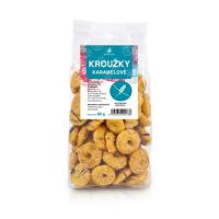 ALLNATURE Krúžky karamelové 80 g