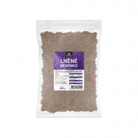 ALLNATURE Ľanové semienko hnedé 1000 g