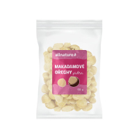 ALLNATURE Makadamové orechy 50 g