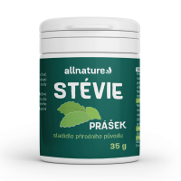 ALLNATURE Stévia prášok 35 g