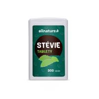 ALLNATURE Stévia tablety 300 tabliet