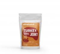 ALLNATURE Turkey pepper Jerky sušené mäso 25 g