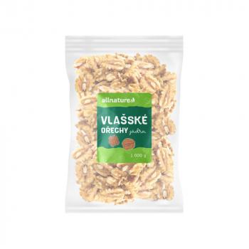 ALLNATURE Vlašské orechy jadrá 1000 g