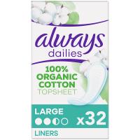 ALWAYS Cotton Intímne vložky Large 32 ks