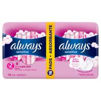 Always Ultra Super Plus Sensitive 2x8 ks