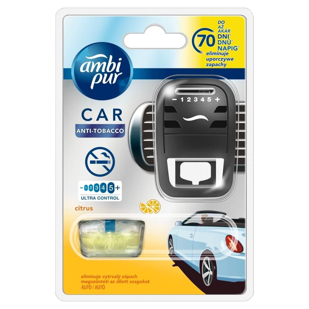 AMBI PUR Car Citrus osviežovač vzduchu do auta s náplňou 7 ml