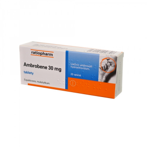 AMBROBENE 30 mg 20 tabliet