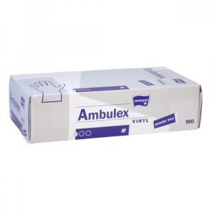 Ambulex Vinyl rukavice vinylové nepúdrované M 100ks