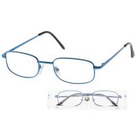 Okuliare čtecí American Way + 2.50 modrej v etui