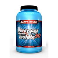 AMINOSTAR Pure CFM whey protein isolate 90% príchuť jahoda 1000 g