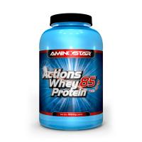 Aminostar Whey proteín actions 85 jahoda 1000 g