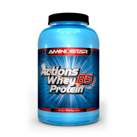 AMINOSTAR Actions whey protein 85% príchuť čokoláda 1000 g