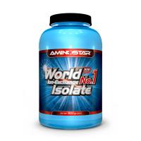 AMINOSTAR World No.1 isolate 90% príchuť vanilka 900 g