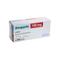 ANOPYRIN 100 mg 56 tabliet