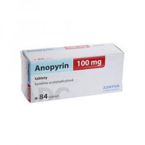 ANOPYRIN 100 mg 84 tabliet