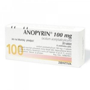 ANOPYRIN 100 mg 28 tabliet