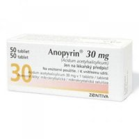 ANOPYRIN 30 mg 50 tabliet