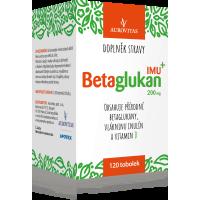 AUROVITAS Betaglukan IMU 200 mg 120 kapsúl