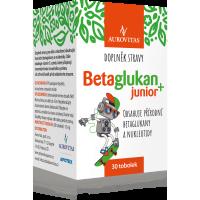 AUROVITAS Betaglukán JUNIOR 100 mg 30 toboliek