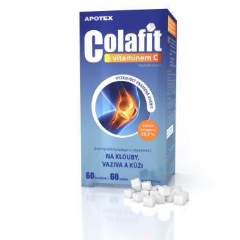 APOTEX Colafit 60 kociek + 60 tabliet s vitamínom C