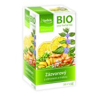 APOTHEKE Zázvorový čaj s citrónom a mätou BIO 20x1,5 g