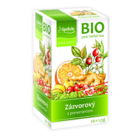 APOTHEKE Zázvorový čaj s pomarančom BIO  20x1.5g