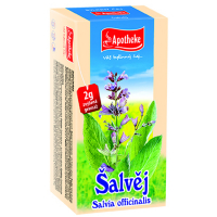 APOTHEKE Šalvia čaj 20 vrecúšok