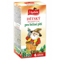 APOTHEKE Detský bylinný čaj pre bežné pitie BIO 20 vreciek
