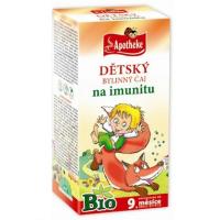 APOTHEKE Detský čaj na imunitu BIO 20x1,5 g