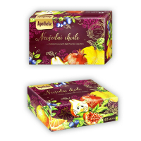 APOTHEKE Kolekcia prémiových čajov Nevšedné chvíle 48 vrecúšok