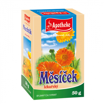 APOTHEKE Nechtík lekársky kvet sypaný čaj 50 g