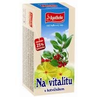 APOTHEKE Na vitalitu s kotvičníkom čaj 20x 2 g