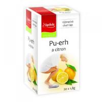 AP Čaj pu-erh a citrón 20 x 1,8 g