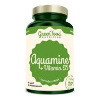 GREENFOOD NUTRITION Aquamine + vitamín D3 60 kapsúl