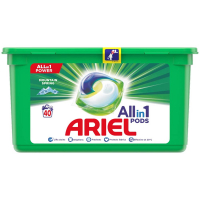 ARIEL Allin1 Pods Mountain Spring Kapsule na pranie 40 kapsúl