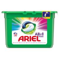 ARIEL Allin1 Pods Color Kapsule na pranie 14 praní