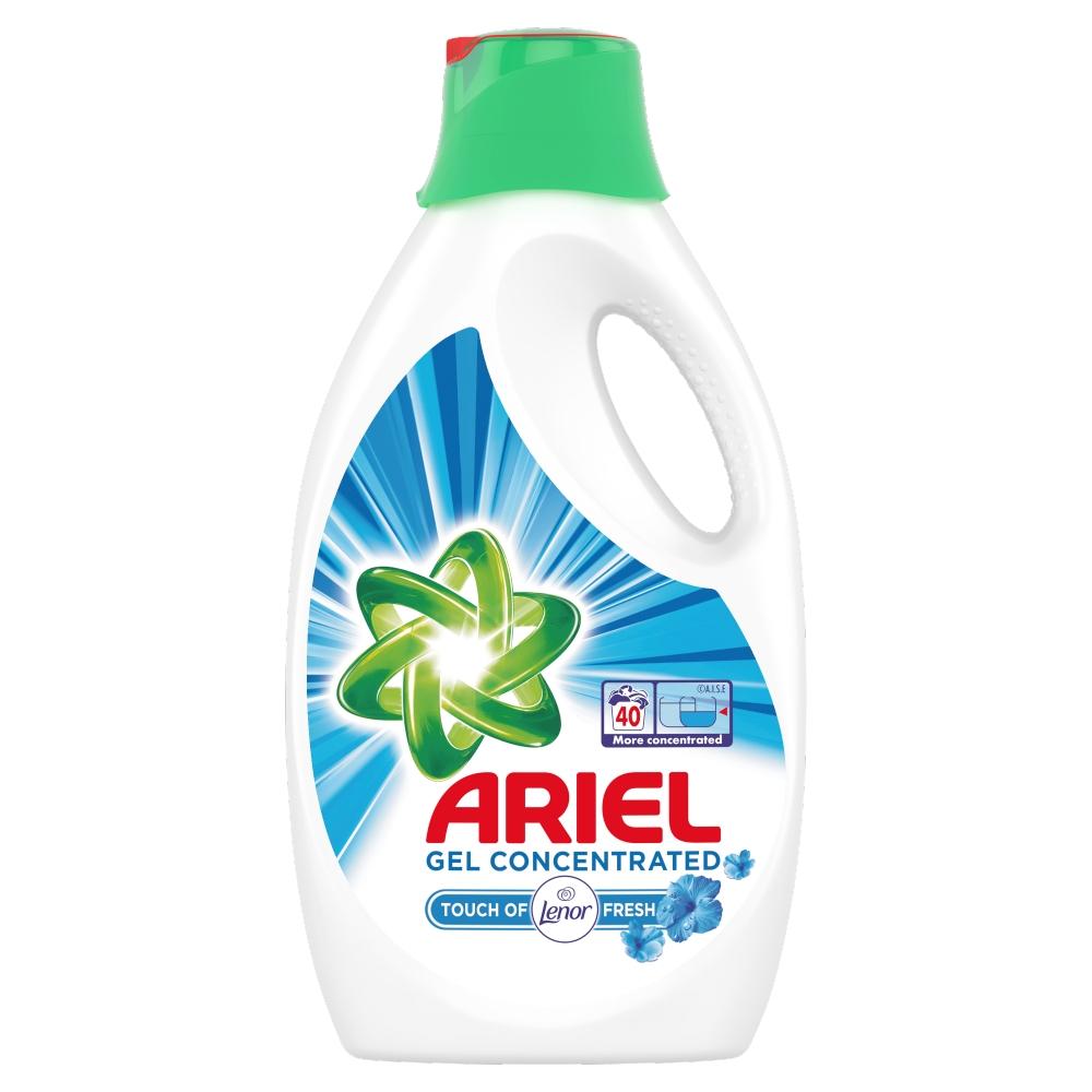 Ariel gél Touch of Lenor 2,6l pracích dávok 40