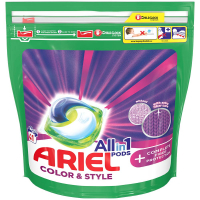 ARIEL Allin1 Color & Style + Complete Fiber Protection Kapsuly na pranie 41 PD