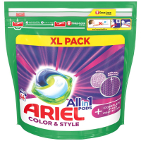 ARIEL Allin1 Color & Style + Complete Fiber Protection Kapsuly na pranie 46 PD