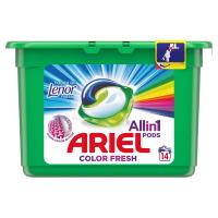 ARIEL Allin1 Pods Touch Of Lenor Fresh Color Kapsule na pranie 14 praní