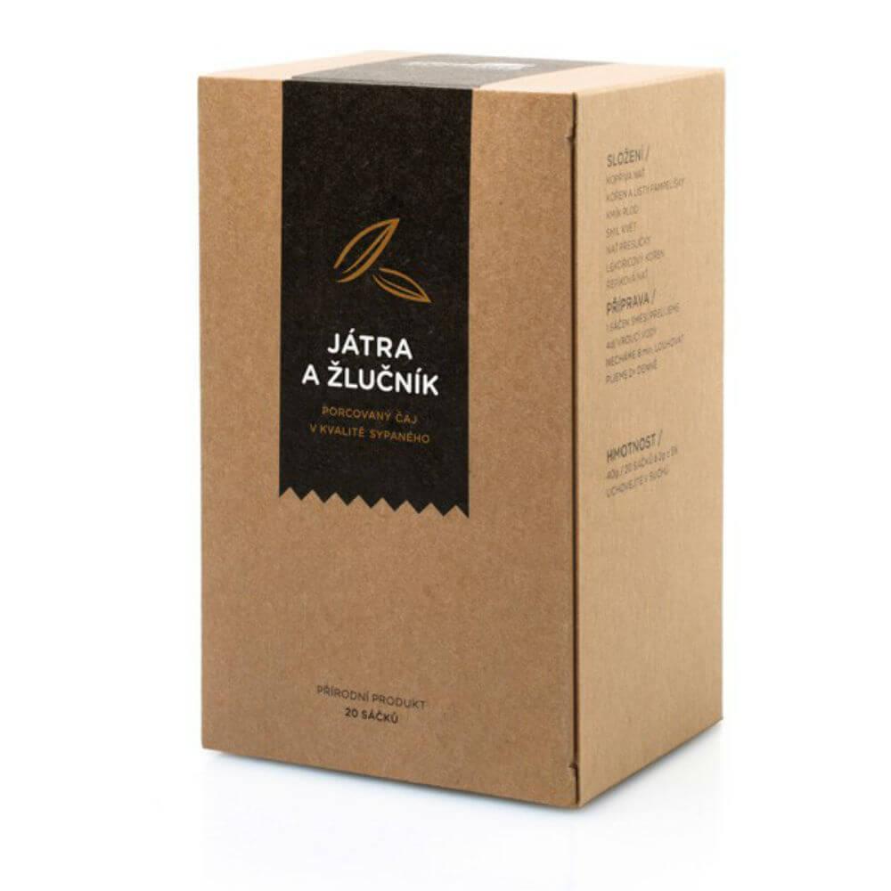 AROMATICA Bylinný čaj Pečeň a Žlčník 20 vrecúšok x 2g