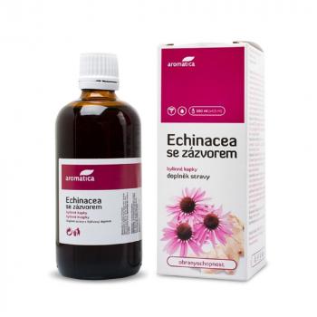 AROMATICA Echinacea so zázvorom bylinné kvapky 100 ml