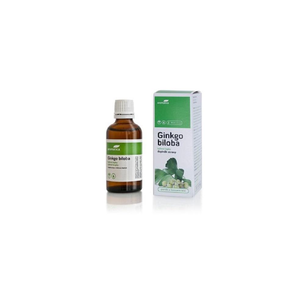 AROMATICA Ginkgo biloba bylinné kvapky 50 ml